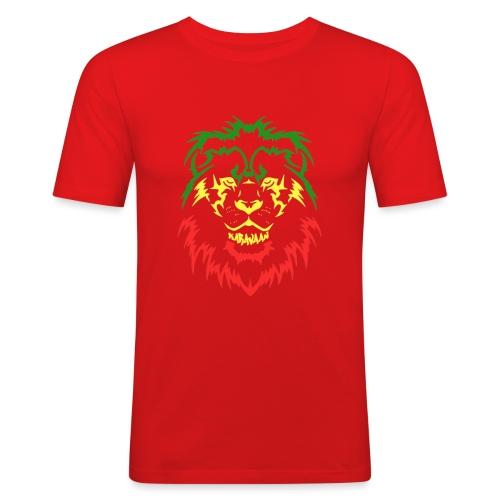 KARAVAAN Lion Reggae - Mannen slim fit T-shirt