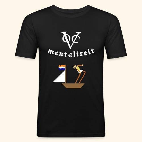 VOC-mentaliteit - Mannen slim fit T-shirt