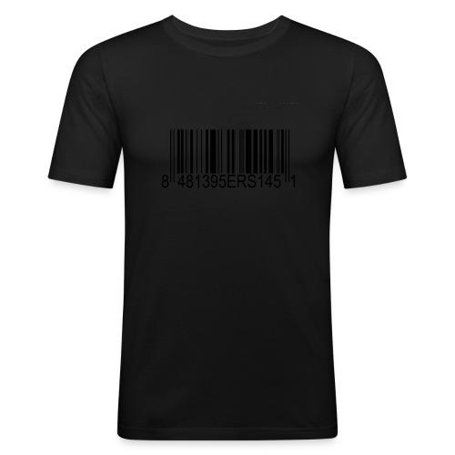 barcode1280x960 - Männer Slim Fit T-Shirt