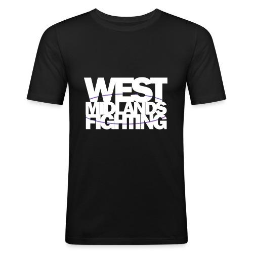 tshirt wmf white 2 - Men's Slim Fit T-Shirt