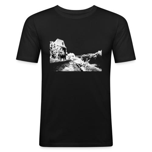 J'aime Mouleydier - Pont F - T-shirt près du corps Homme