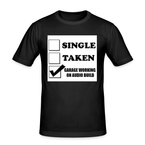 BassShirt - Miesten tyköistuva t-paita