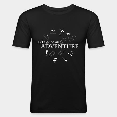 Let's go on an adventure! - Men's Slim Fit T-Shirt