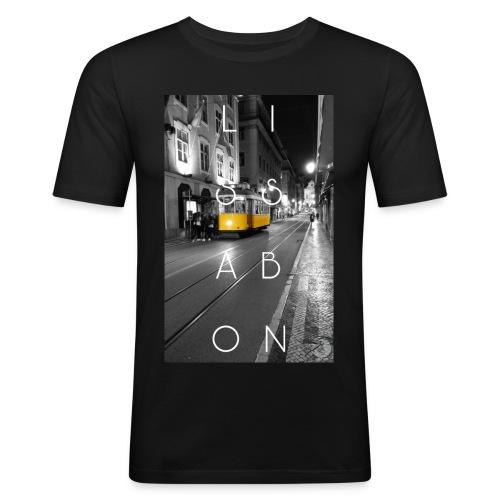 CITY Collection   Lissabon - Männer Slim Fit T-Shirt