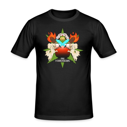 coat of arms final - Men's Slim Fit T-Shirt