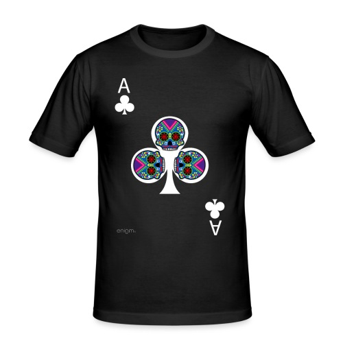 Ace of clubs - The skulls players - T-shirt près du corps Homme