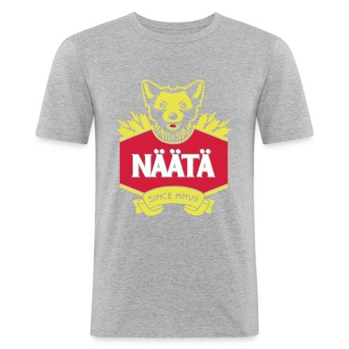Näätä - Miesten tyköistuva t-paita