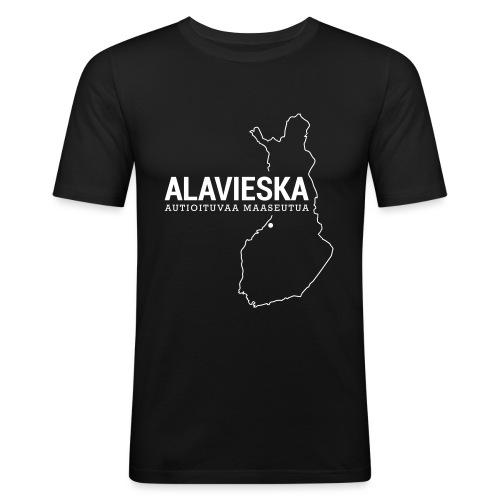 Kotiseutupaita - Alavieska - Miesten tyköistuva t-paita