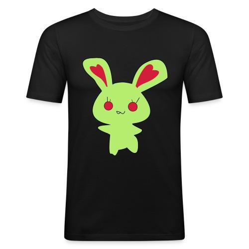 Zombie lapin rabbit - T-shirt près du corps Homme