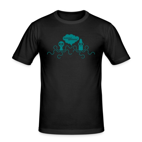 TENTAKEL SPEKTAKEL neongrün - Männer Slim Fit T-Shirt