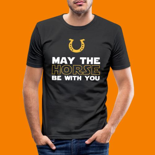 May the horse be with you - Slim Fit T-shirt herr