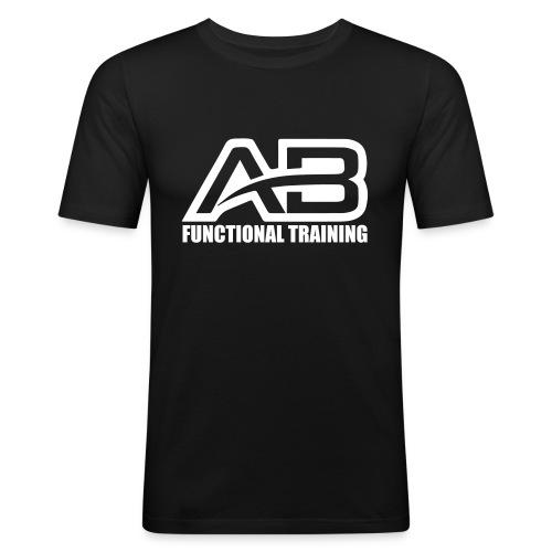 DEF_AB_DARK_BACKGROUND - Maglietta aderente da uomo
