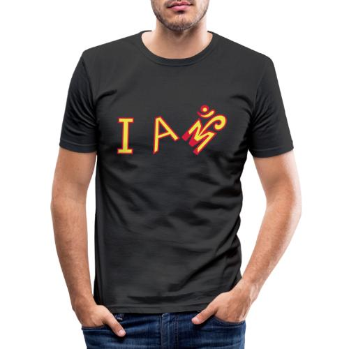 Jeg er Om - Herre Slim Fit T-Shirt