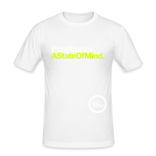 Pure Trance A State Of Mind - Men's Slim Fit T-Shirt