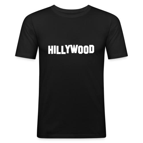 Hillywood - Mannen slim fit T-shirt