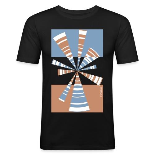 d shapes radio duskmood - Maglietta aderente da uomo