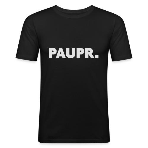 PAUPR. - Mannen slim fit T-shirt