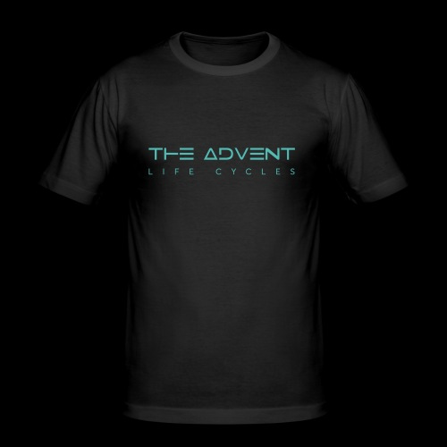 The Advent - Life Cycles #5 - Men's Slim Fit T-Shirt