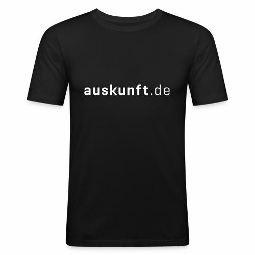 auskunft.de - Männer Slim Fit T-Shirt