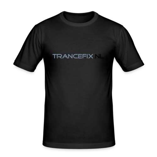 trancefix text - Men's Slim Fit T-Shirt