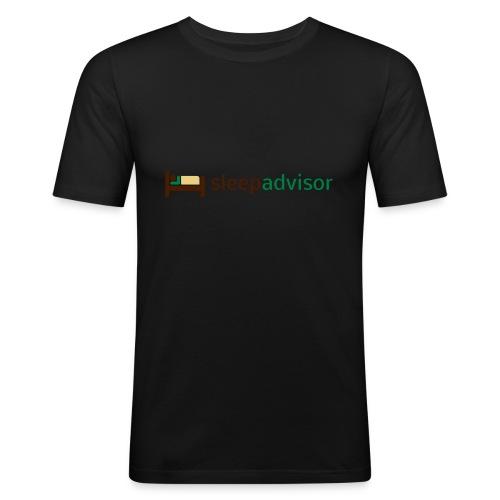 SleepAdvisor - Maglietta aderente da uomo