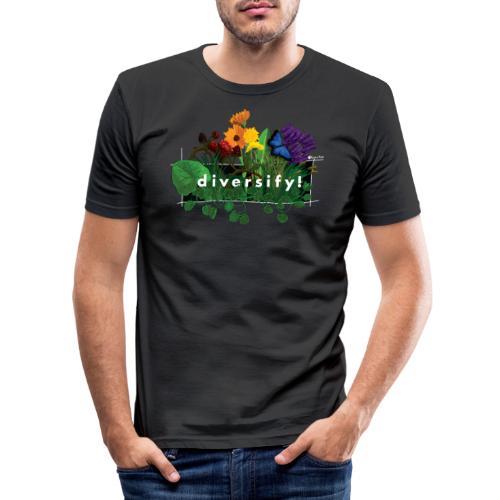 diversify! - Männer Slim Fit T-Shirt