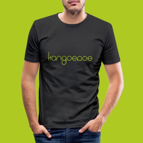 Green Kangoeroe design - T-shirt près du corps Homme