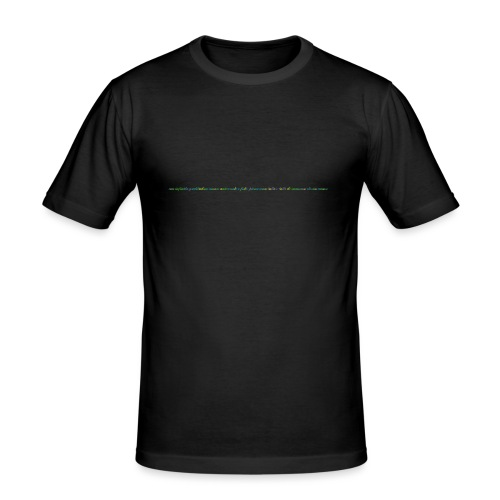immenso_eterno_amore_spreadshirt_04-gif - Maglietta aderente da uomo
