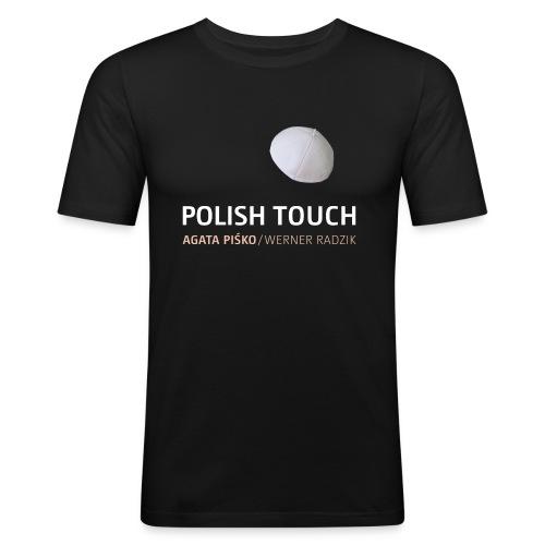 POLISH TOUCH Shirt-2 - Männer Slim Fit T-Shirt