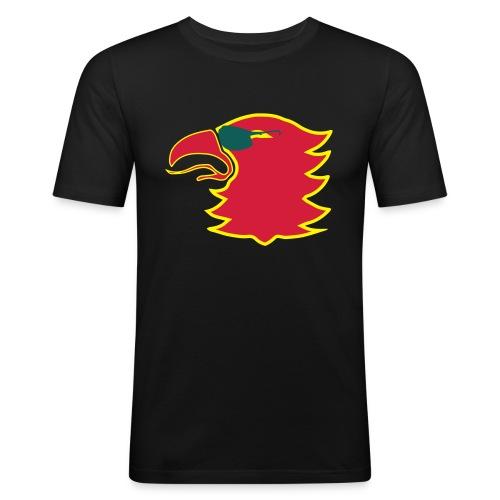 Liekki - Miesten tyköistuva t-paita