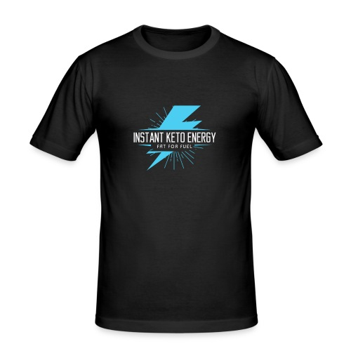 instantketoenergy - Männer Slim Fit T-Shirt