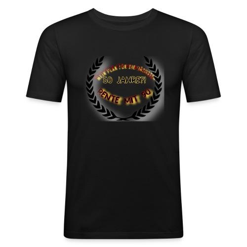FF38BB7F 5D39 43F5 8496 9DB405E0E20E - Männer Slim Fit T-Shirt