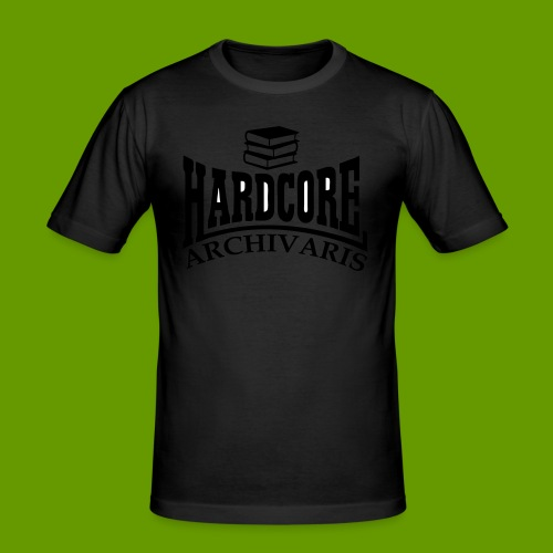 voorkant1 - Mannen slim fit T-shirt