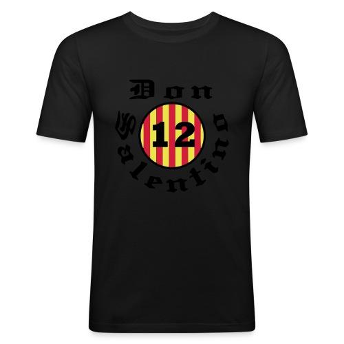 Don Salentino12 Rotondo Gothic by Fantomissimo - Männer Slim Fit T-Shirt