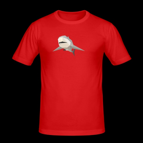 SHARK COLLECTION - Maglietta aderente da uomo