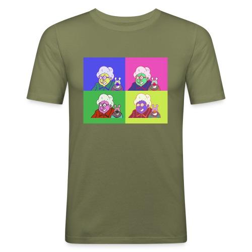 Polete facon warhol - T-shirt près du corps Homme