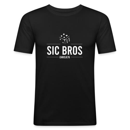sicbros1 chrisje76 - Men's Slim Fit T-Shirt