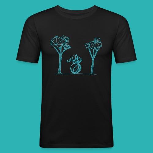 Rotolare_o_capitombolare_lightblu-png - Maglietta aderente da uomo