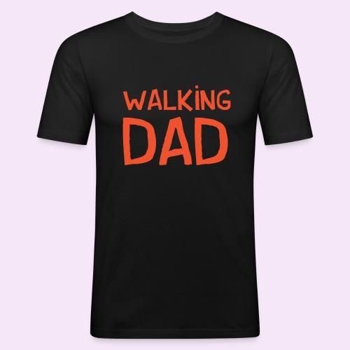 Vierdaagse Nijmegen - Walking Dad RED - Mannen slim fit T-shirt