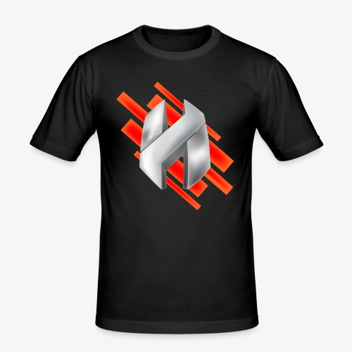 Abstract Red - Men's Slim Fit T-Shirt