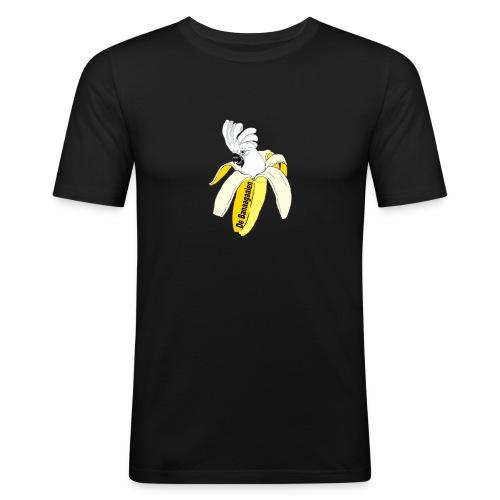 De_Banagaaien_Bregtje-png - Mannen slim fit T-shirt