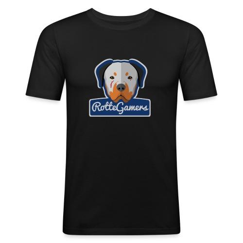 Original RotteGamers Hoodie Logo - Mannen slim fit T-shirt