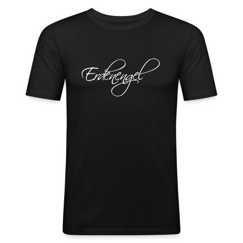 Erdenengel (Flügel am Rücken) - Männer Slim Fit T-Shirt