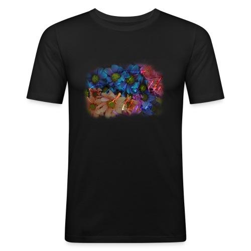 FaithMark-SpreadShirt-Colorful - Mannen slim fit T-shirt