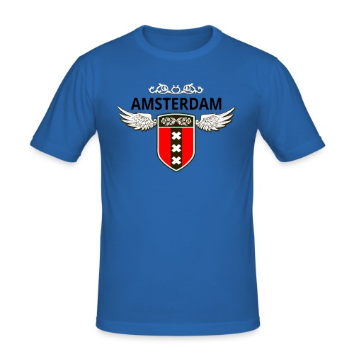 Amsterdam Netherlands - Männer Slim Fit T-Shirt