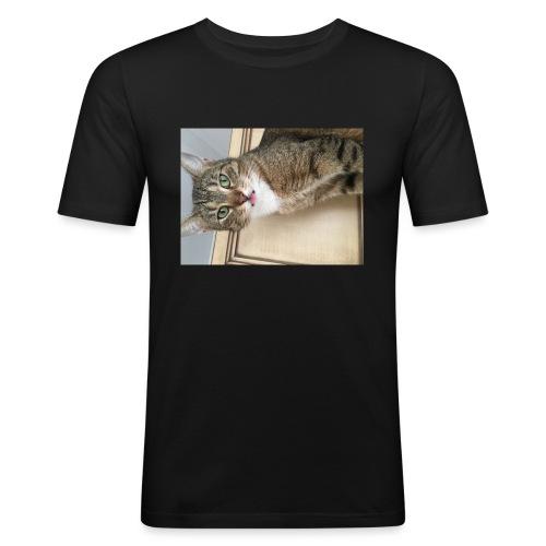 Kotek - Obcisła koszulka męska