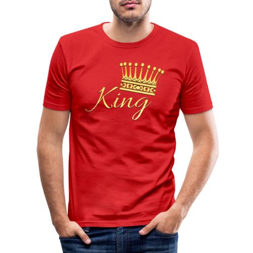 King Or by T-shirt chic et choc - T-shirt près du corps Homme