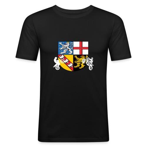 SaarRiderCrew FAN Hoodie - Männer Slim Fit T-Shirt