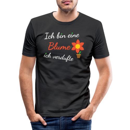 Blume Garten Gärtner Florist Shirt Geschenk - Männer Slim Fit T-Shirt