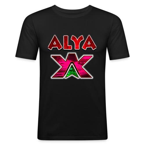 ALYA LOGO LONG - Slim Fit T-skjorte for menn